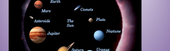 The Planets: High School class presentation and voice recording.